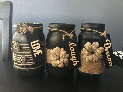 64 DIY Easy and Unique Mason Jar Decorations