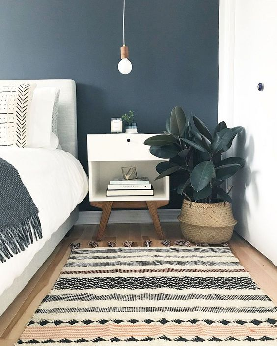 47 Wonderful Carpet Color Theme Ideas for Decorating Your Bedroom