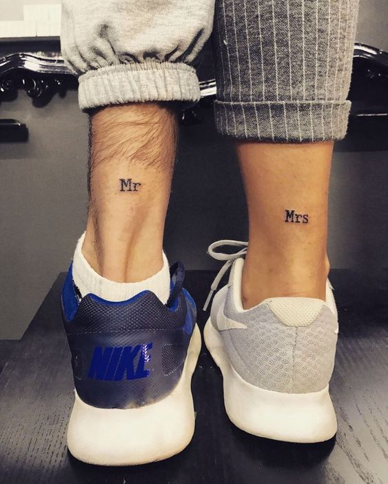38 Inspiring Couple Tattoo For Your Perfect Match